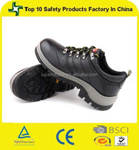 Genuine leather upper new design low cut safety shoes for women