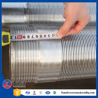 6 inch stainless steel water well screen casing(ss316l, ss302)