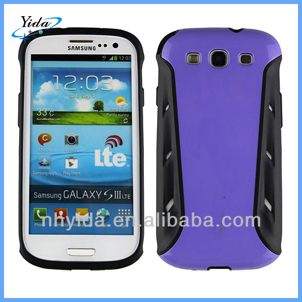 New Style Iface Cell Phone Case For Samsung Galaxy S3 PC + TPU Case Cover