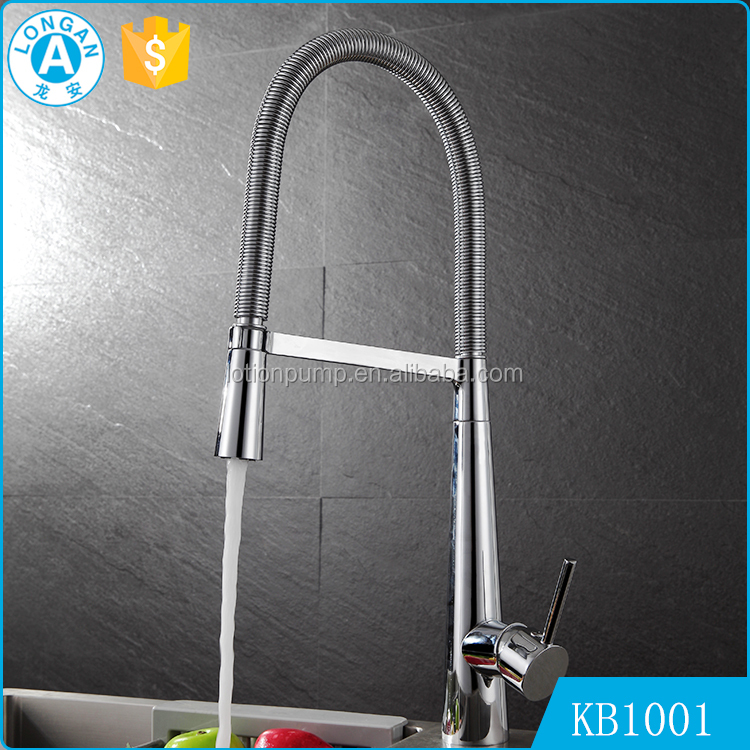 Lead Free Single Handle Hot Cold Brass Kitchen Sink Water Tap