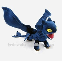 How To Train Your Dragon Toothless Night Fury Stuffed Plush Toy Power Animal