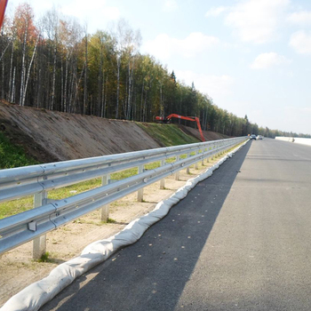 Manufacturer directly supply beam costs corrugated highway guardrail