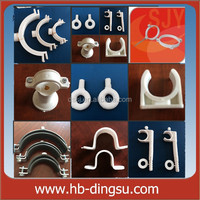 China supplier plastic tube clip/ pvc pipe saddle