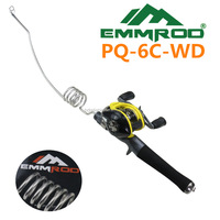 PQ-6C-WD.Emmrod Stainless Portable Fishing Pole Rod Spinning Poles Ocean Boat Fishing Rod Great for a small backpack by Emmrod