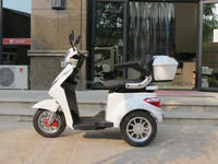 3 wheel brushless 500 watt scooter for handicapped,electric tricycle scooter,Triciclo eletrico