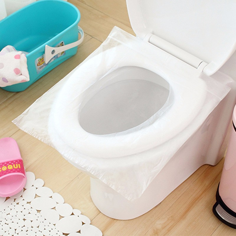 Disposable Waterproof Paper Toilet Seat Cover for Travel Package