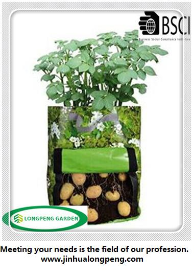 PE Potato Plant Bag,Potato Planting Bag,Potato Plant Pot for Your Own Potato Crop in Your Garden or on Your Balcony