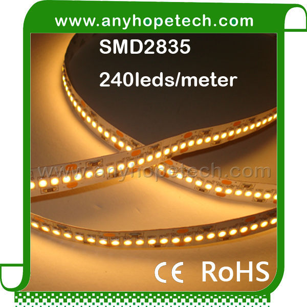 Warm white 4900 lumen CRI 95 3000K DC24V high wattage led strip