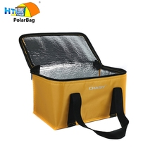 Tote Foldable Aluminum Foil Insulated Collapsible Cooler Bag