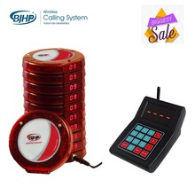 wireless queue system restaurant waiter call vibrator pager