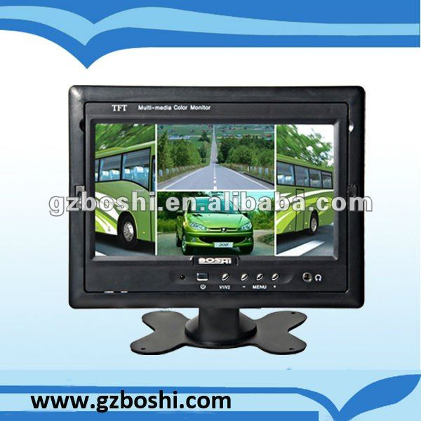 Best - Stand Alone 7'' square lcd monitor car dvd player