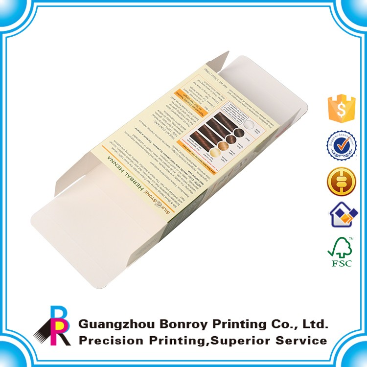 Production Various High quality color paper box package with free sample
