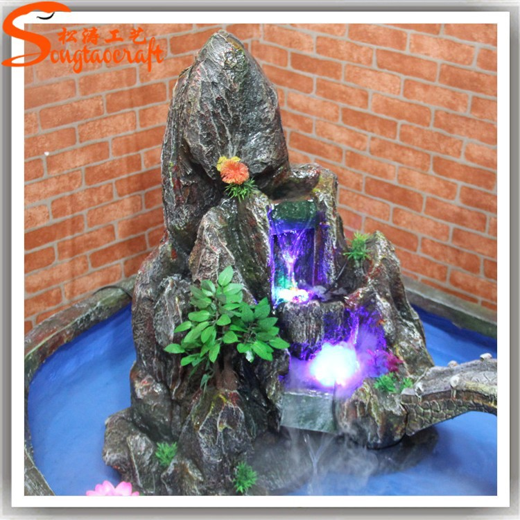 Factory Hot Sale Garden Fountain Indoor Artificial Waterfall Fountain For Landscape Decorative