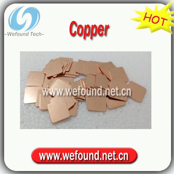 Good Quanlity! Heatsink Copper Shim Thermal Pads for Laptop GPU VAG PAD Cooling