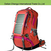 Factory price big capacity hiking camping solar chargeable backpack