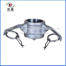 Type DC hydraulic ss coupling hot sale fuel line quick connector