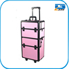 Professional beauty-case makeup station with trolley