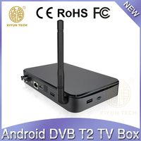 Kodi 4K H.265 Quad Core Android DVB-S2/DVB-T2/DVB-C Hybrid Satellite Receiver With Arabic IPTV/Youtube/Google
