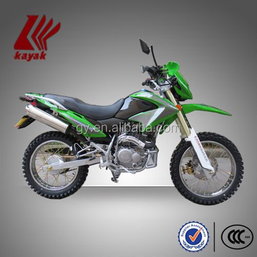 "Deluxe Motorcross Double Muffler 150cc Dual Sportbike, Off-road,""The Conqueror"",KN150GY-5C"