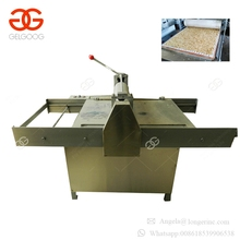 Stainless Steel Small Model Peanut Brittle Making Machine Sesame Candy Cutting Machine