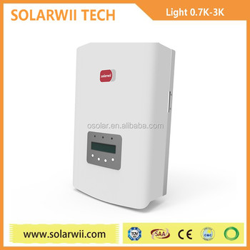 Solarwii high tech 2kw PWM/MPPT solares fotovoltaicas inversor | solares
