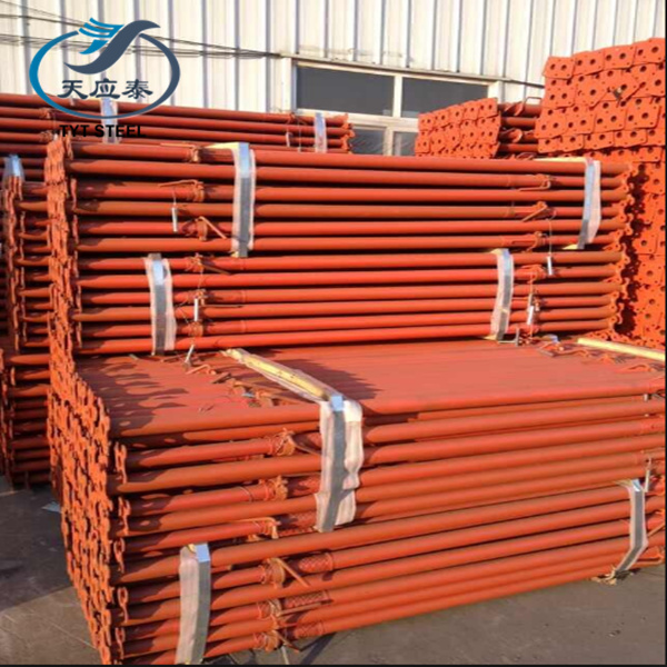 interior props used formwork shoring steel props slab formwork steel prop with adjuatable and safety feature