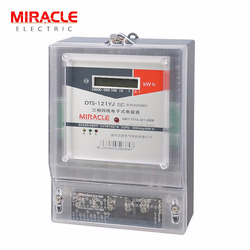 Three phase digital electric kilowatt hour meter kwh meters