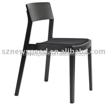 Modern Style Wooden Stackable Restaurant Dining Chair DS-C141A