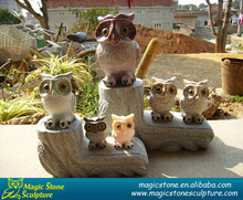 inspirational stones owl wholesale manufactured in Xiamen