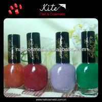 colorful natural gel nail polish