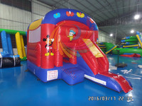 Animal inflatable funny jumpers,inflatable jumping toys for sale