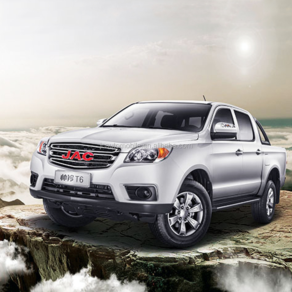 Hot selling JAC 4WD double cabin diesel type pick up truck for sale