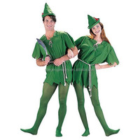 Peter Pan Robin Hood Storybook Mens Womens Fancy Dress Up Party Unisex Costume