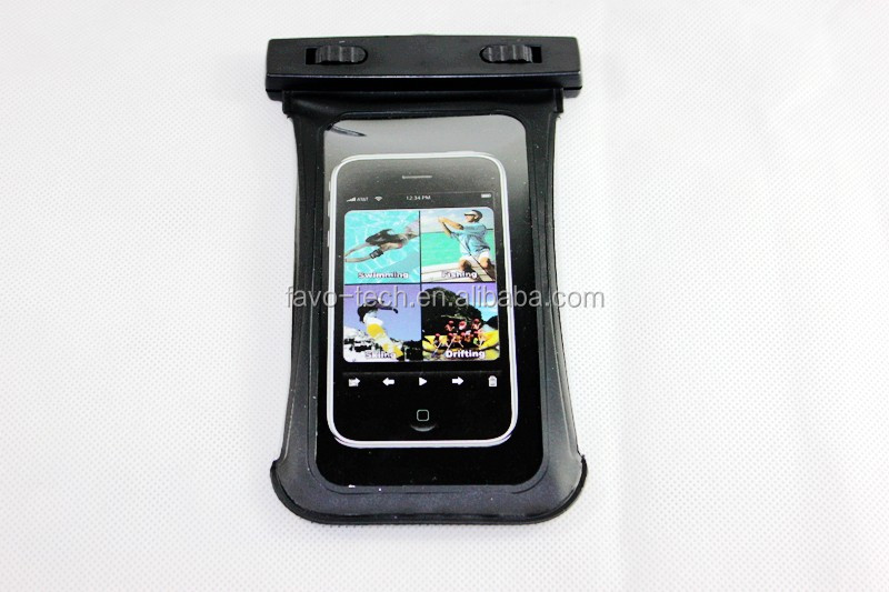 Gift Very best selling universal pvc waterproof bag for iphone5s smartphone tablet pc camera