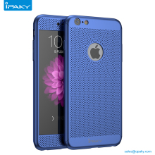 Ipaky 360 Protect Mobile Back Cover 2In 1 Cool Full Breathable Cell Phone Case For Iphone7 7Plus