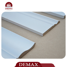 MDF and HDF skirting board wall decoration baseboard moulding