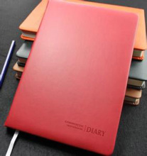 factory A5 notebook custom leather journal cover pu planner