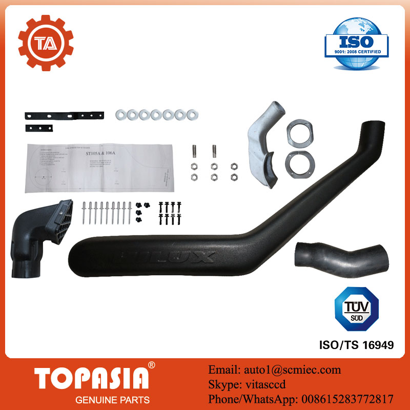 Off Road 4 Wheel Car Snorkel used for Toyota Hilux 106 series