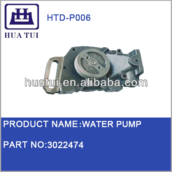 Centrifugal Water Pumps for Cummins Diesel 3022474 3801708