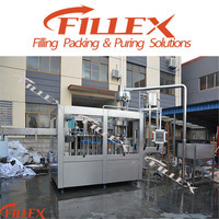 Hot filling tea beverage processing machine
