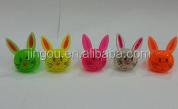 Rabbit Design Flashing Ring Toys For Kids