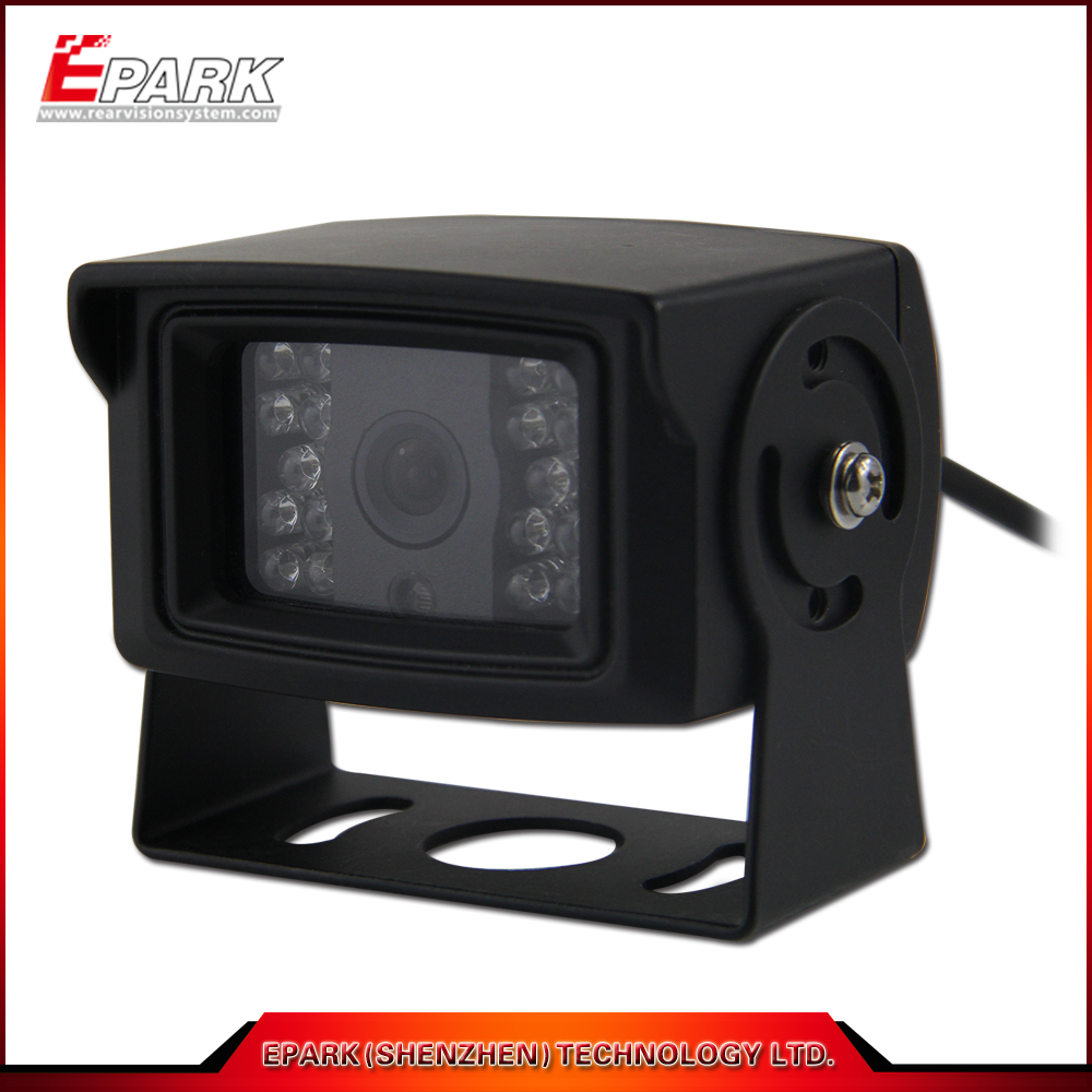 IP68 135 Degree Wide Angle Vehicle Rear View Camera with Mirror Image for Reversing