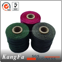 Excellent quality polyester knitting waxed thread