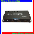 new design super quality HD Splitter 1x4 HDMI1.4 3D 4K x 2K V1.4