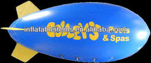 helium big inflatable blimp for advertising
