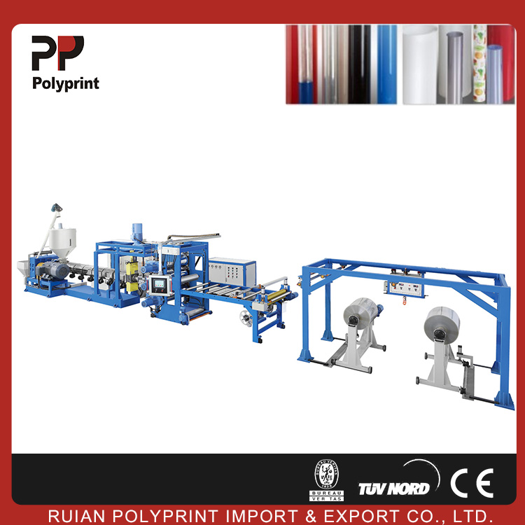 Reliability plastic sheet extrusion machine