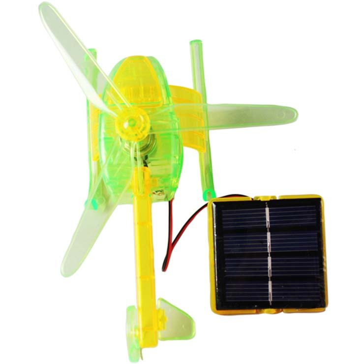 se-4452027 Solar energy helicopter kids Solar energy fashionable self-assembling helicopter