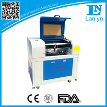 Lanlyntech Cheap 60w Mini Craft Laser Cutting Machine 4060 / glass bottle engraver