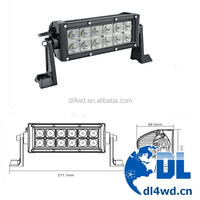 auto 10-30V 36W LED Working Light bar Truck auto LED Work Lights