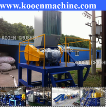 plastic container crush equipment